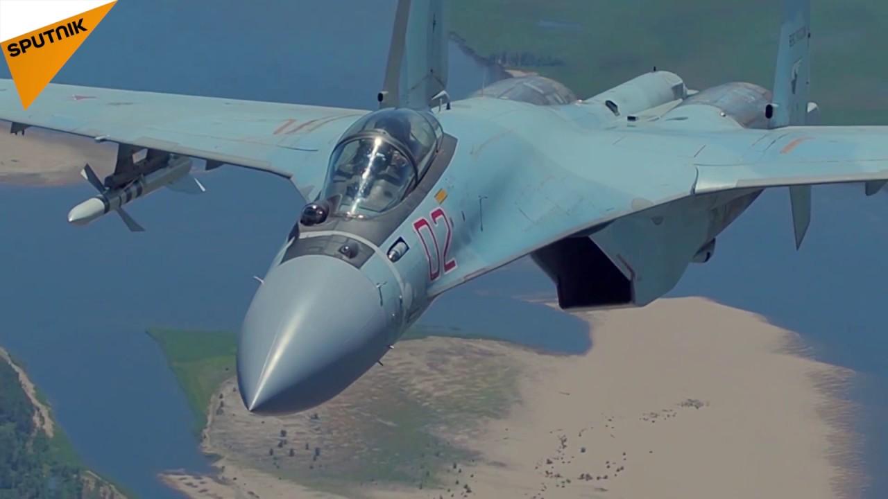 Russian SU 35 S Fighter Jet En...