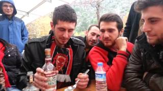 ESparta Deplasman Yaparsa absinthe hazırlanışı