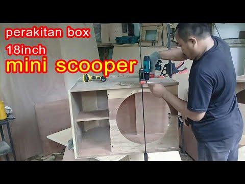 Cara Simple Membuat Bok 18inch Mini Scooper