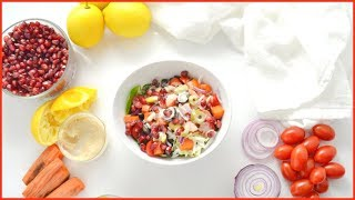 Quick, Easy, & Tasty SALAD RECIPE W/ PERSPECTIVE PORTIONS