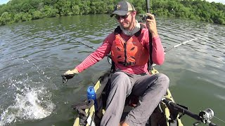 River Bend Fishing for Blue Catfish