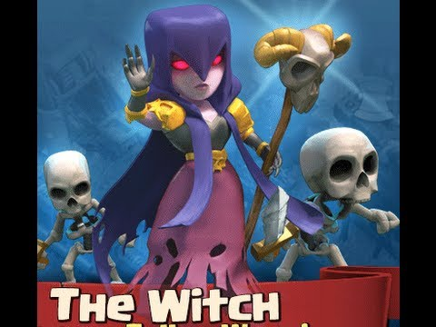 Clash of Clans - The Witch / Die Hexe - Gameplay Pt. 2 - by Jay One