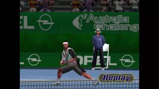 Virtua Tennis 1 Gameplay En Español (PC-HD)