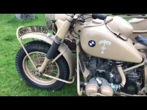 BMW R75 year 1942 Wehrmacht , Waffen , Africa Corps , Krzysztof Gdansk