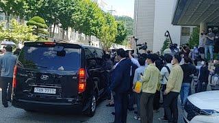 속보 전두환대통령광주법원재판출석