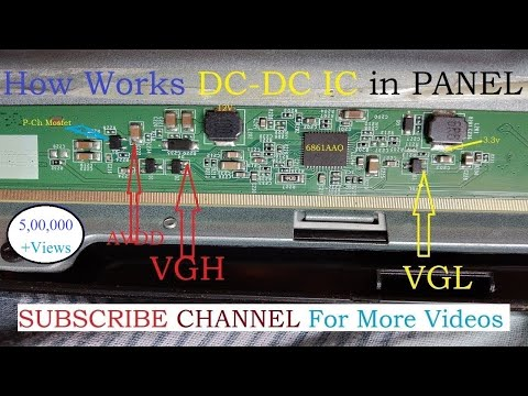 How works panel DC to DC IC