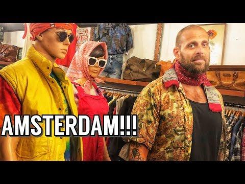 Mr. Bone Does Amsterdam: The Netherlands World Travel