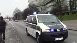 (SELTEN!!) Verletzte Soldaten Transport nach Hamburg mit Feldjäger, ORGL,Presse UVM
