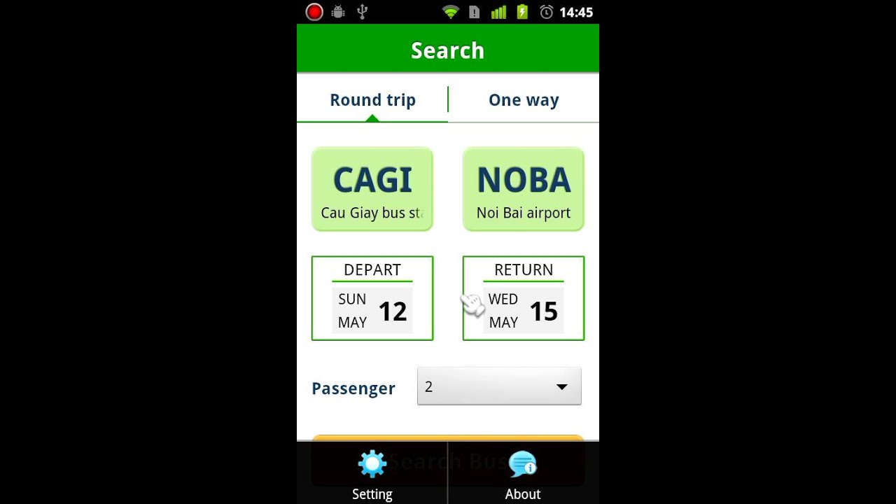 Project Template - Bus Ticket Booking Mobile Android Application ...