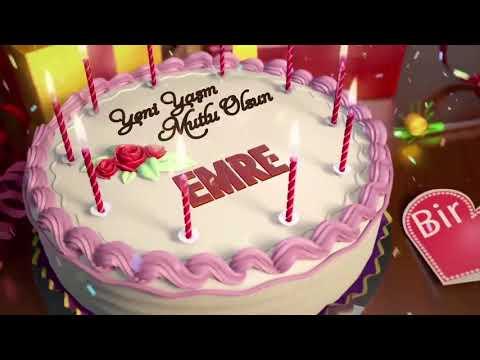 İyi ki doğdun EMRE - İsme Özel Doğum Günü Şarkısı