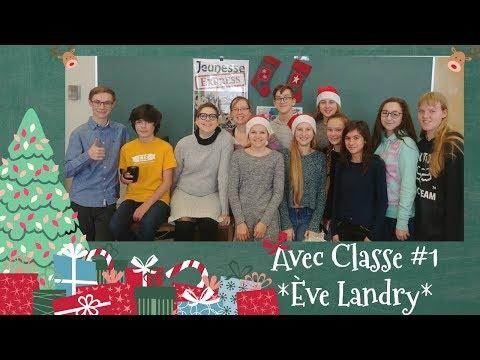 Avec Classe #1 Ève Landry par Jeunesse express