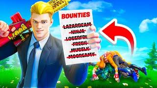 The Fortnite BOUNTY Hunter! *CHALLENGE*