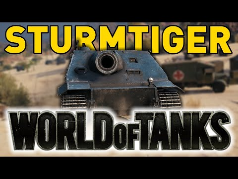 The STURMTIGER in World of Tanks!