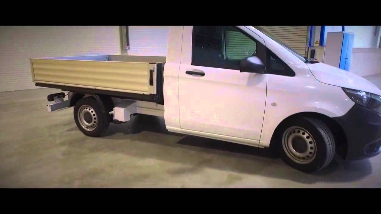 mercedes benz vito pickup truck 4x4 off road dropside. Black Bedroom Furniture Sets. Home Design Ideas