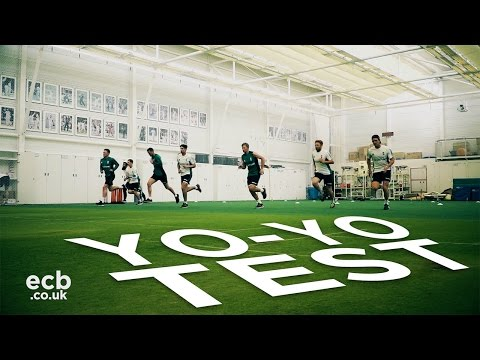 England Cricket fitness day - who won the Yo-Yo Test?