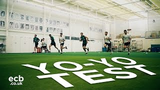 England Cricket fitness day - who won the Yo-Yo Test?