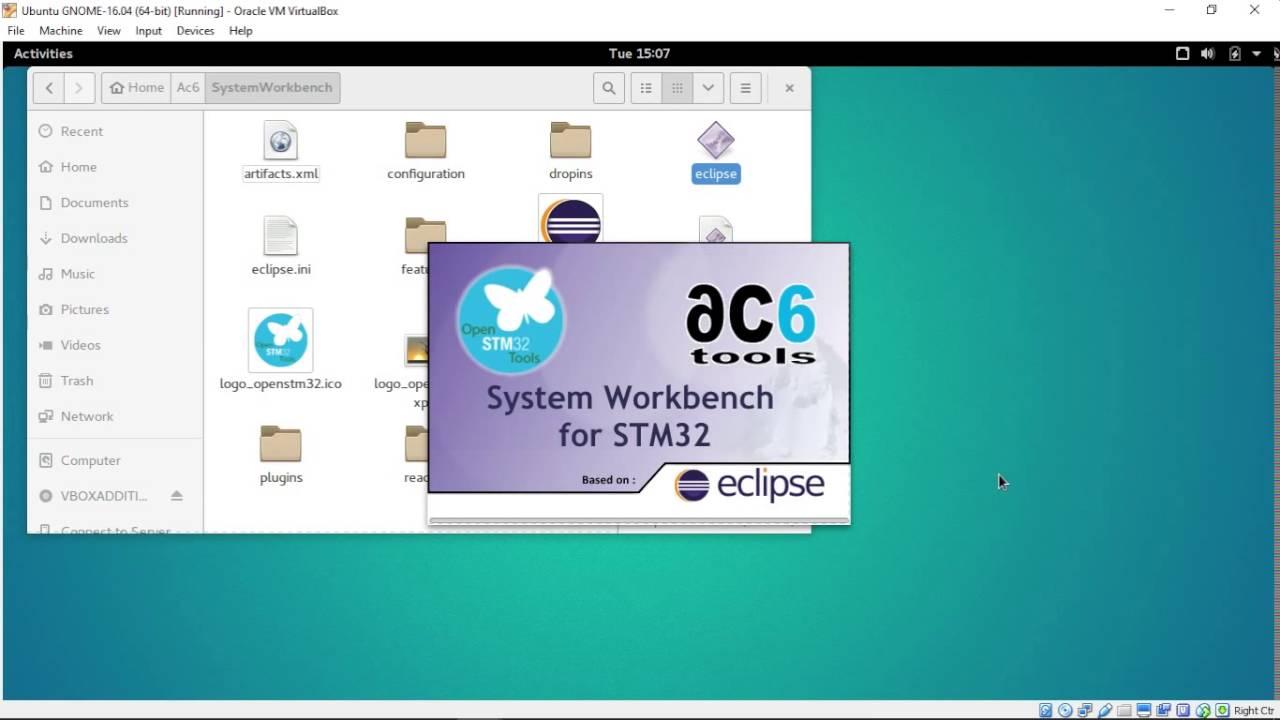 Install System Workbench for STM32 on Ubuntu