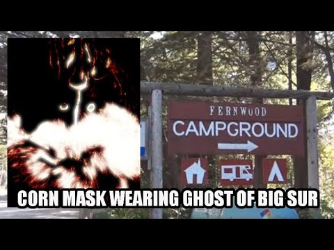The Corn Mask Wearing Ghost of Big Sur