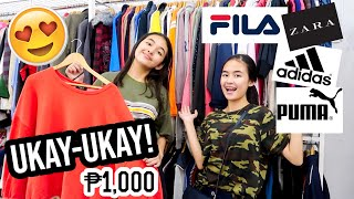 BRANDED UKAY UKAY SHOPPING | Princess And Nicole
