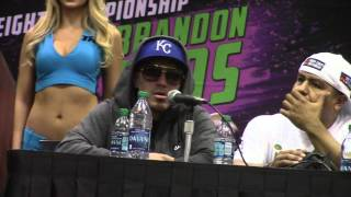 """""""HE FUCKING GOT ME GOOD WITH THE DAMN BODY SHOT"""" BRANDON RIOS RETIRES AFTER TKO LOSS TO BRADLEY"""