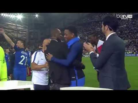 l'Equipe de France remercie BeIn Sport après France Allemagne