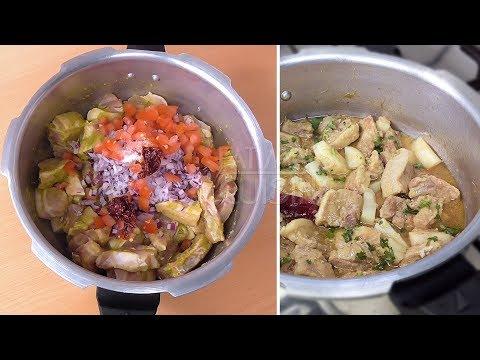 Pork Curry in Pressure Cooker | Goan style Pork Curry Recipe