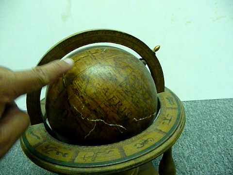 WOODEN GLOBE MADE IN ITALY - 110511867214