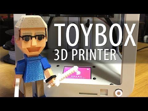 Toybox Labs Indiegogo 3D Printer First Look