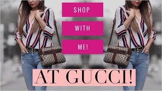 SHOP WITH ME AT THE NEW GUCCI MELBOURNE STORE ! - VLOG