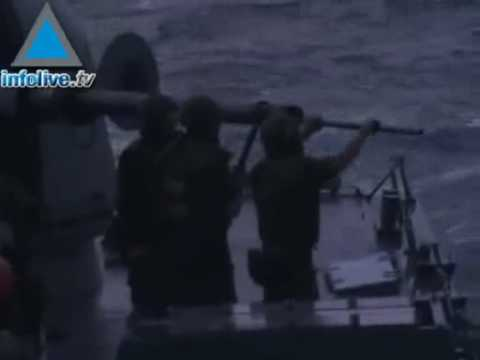 Tirs de la marine israélienne à Gaza