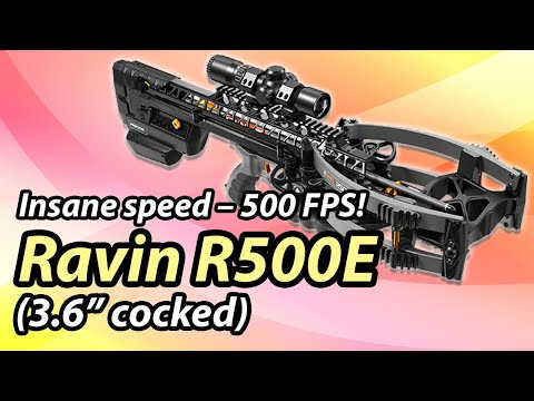 Ravin R500E – World's Fastest Crossbow (500 FPS) You can buy it right now!