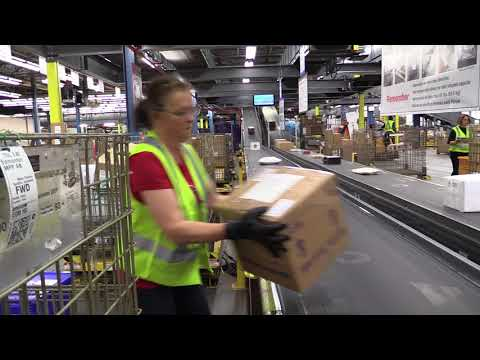 Canada Post's mail processing plant
