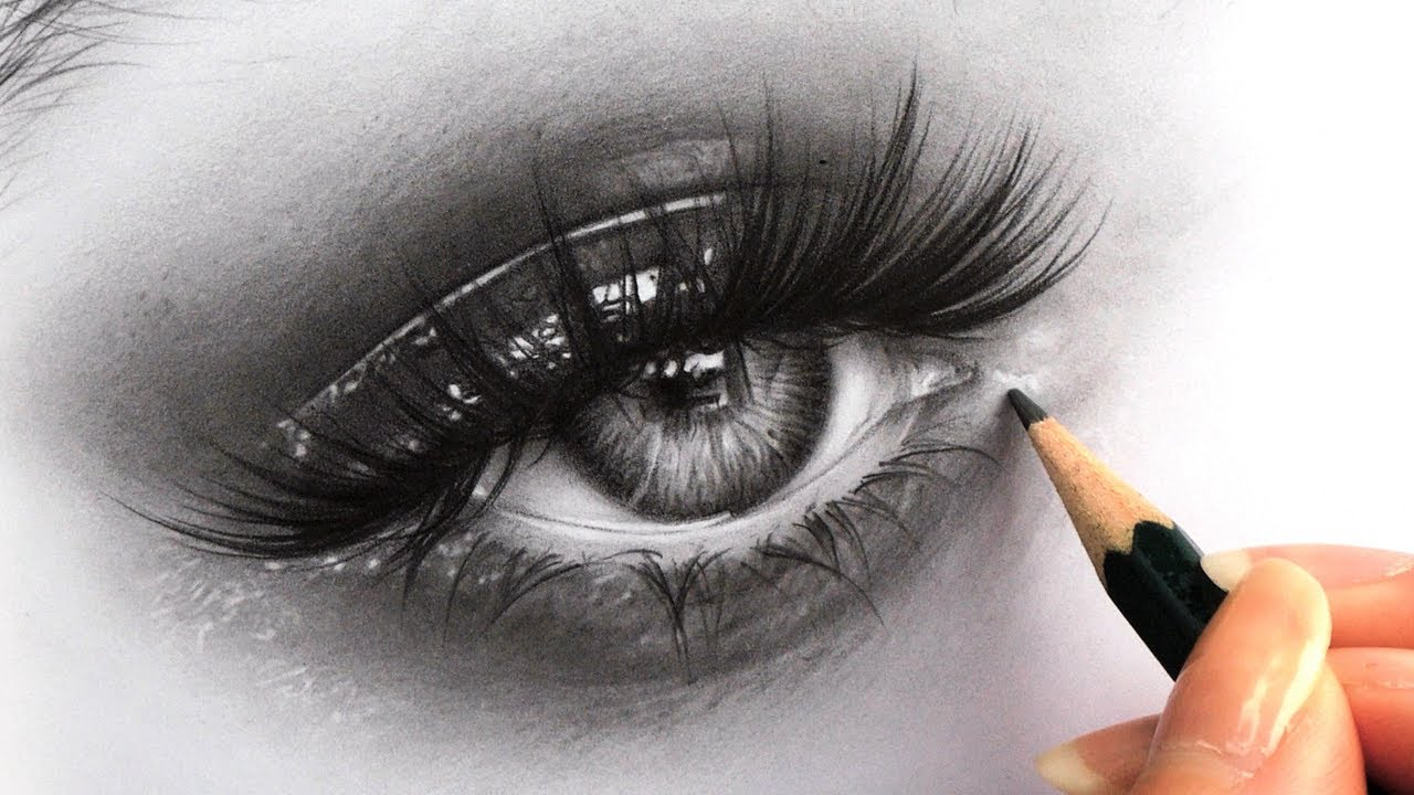 How To Draw Hyper Realistic Eyes