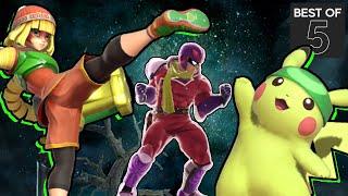 Pikachu & Min Min Practice - ESAM VS. Fatality