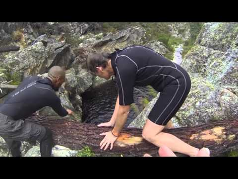 Kloofing Suicide Gorge - Hottentots Holland Nature Reserve
