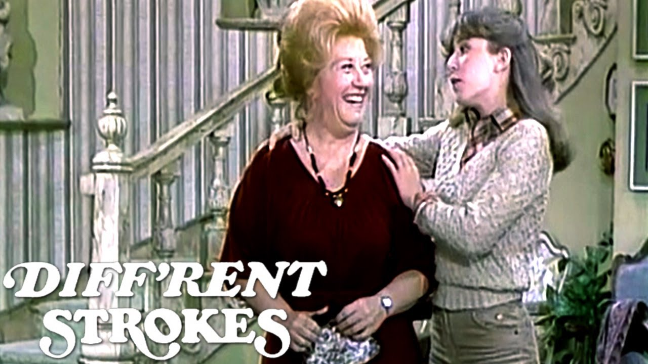 Mrs. Garrett Is Going On A Date! | Diff'rent Strokes