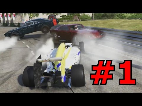 Forza 6 Griefing #1 - Bumping Reactions
