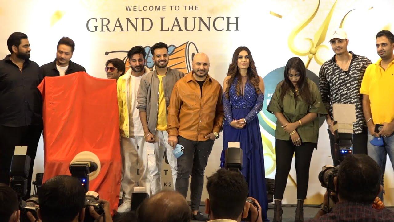 Download B Praak, Mohit Bansal & Shubham Bansal Of K2 Group Launched Pellet Drum Productions & Vegaan Shakes