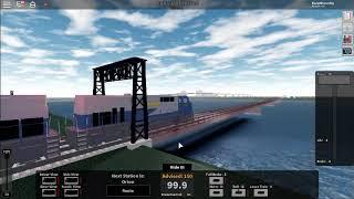 Roblox Rails Unlimited probiert den neuen Atomzug aus