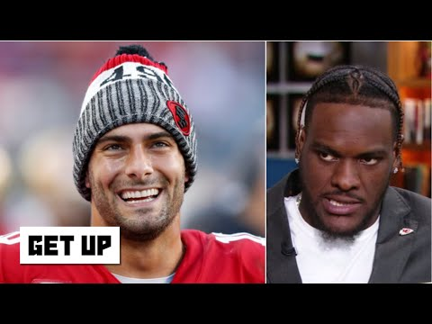 Frank Clark: Jimmy Garoppolo is a great QB, but Patrick Mahomes is the best in the NFL   Get Up