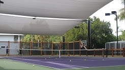 Tennis Court Shade Structure