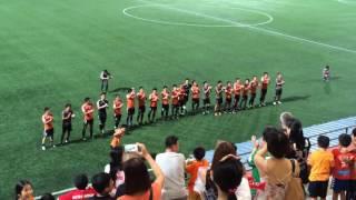 アルビレックスシンガポール 勝利のダンス