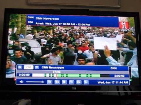 CNN Commercial Skip Demo in SageTV Media Center 6.5