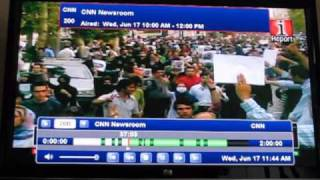 CNN Commercial Skip Demo in SageTV Media Center 6.5