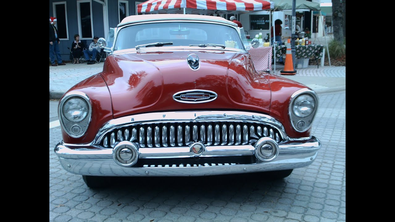 1953 buick roadmaster skylark convertible red youtube. Cars Review. Best American Auto & Cars Review