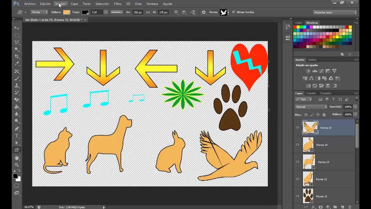 Creación de acciones en Adobe Photoshop