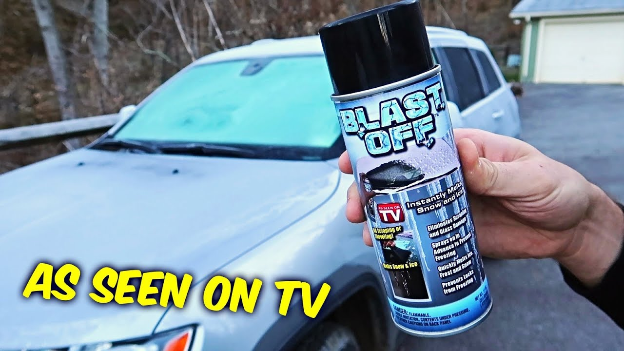 Blast Off Windshield Defroster - As Seen on TV
