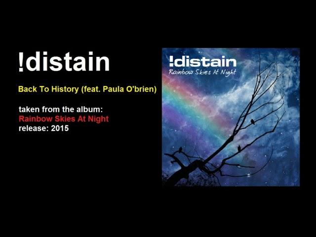 !distain - Back To History (feat.  Paula O'Brien)