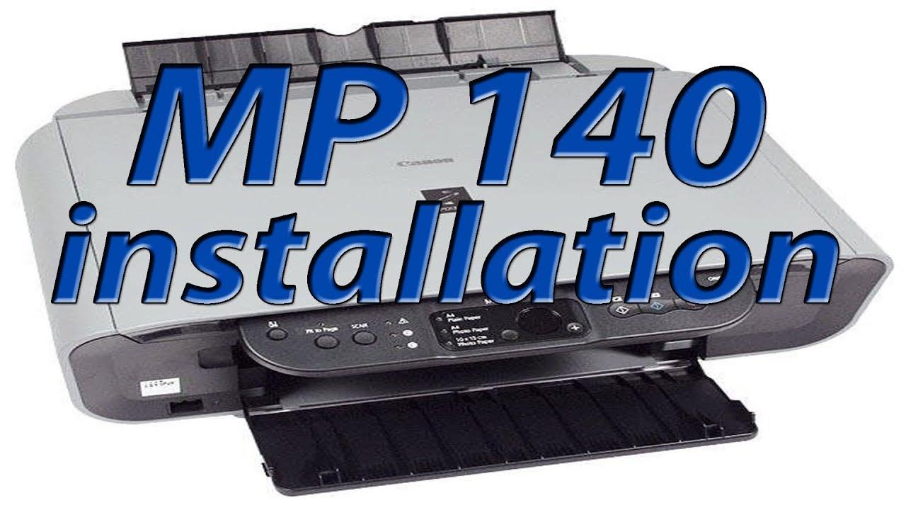 INSTALL CANON MP140 PRINTER WINDOWS 8 X64 DRIVER