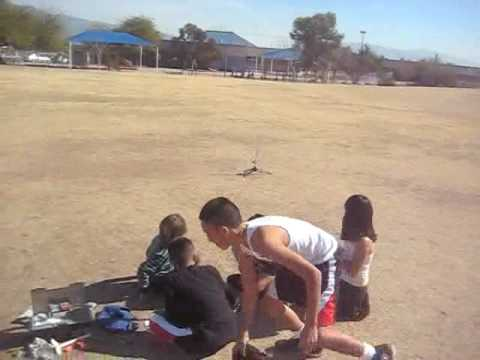 Robins Elementary School Rocket Launch